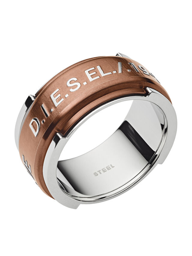 Diesel - RING DX1097, Bronce - Anillos - Image 1