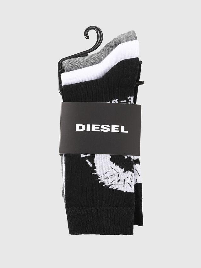 Diesel - SKM-RAY-THREEPACK, Multicolor/Negro - Calcetines - Image 2