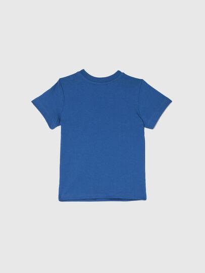 Diesel - TJUSTLOGOB, Azul - Camisetas y Tops - Image 2