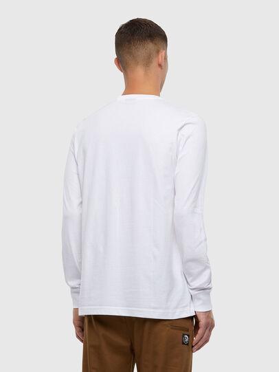 Diesel - T-JUST-LS-X93, Blanco - Camisetas - Image 2