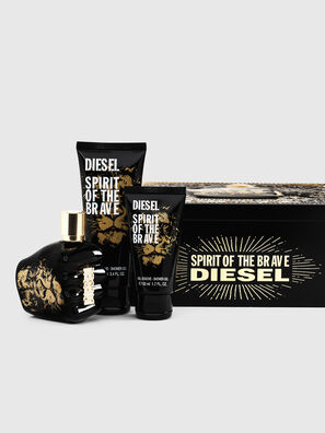 SPIRIT OF THE BRAVE 75ML METAL GIFT SET, Negro - Only The Brave