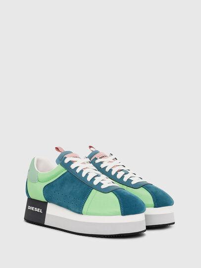 Diesel - S-PYAVE WEDGE, Verde/Azul - Sneakers - Image 2