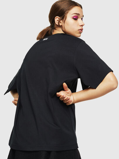 Diesel - T-JUSTINA, Negro - Camisetas - Image 2