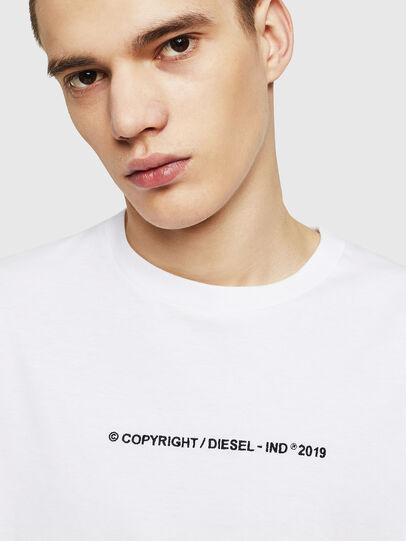 Diesel - T-JUST-COPY, Blanco - Camisetas - Image 3
