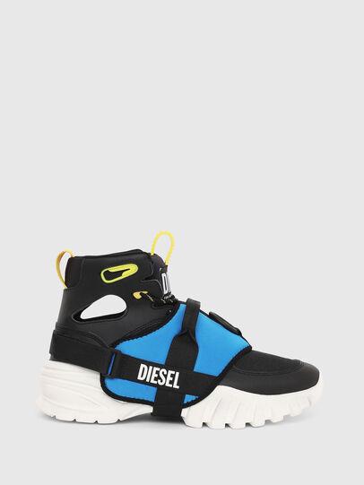 Diesel - S-SHARQUEZ MID, Negro - Sneakers - Image 1