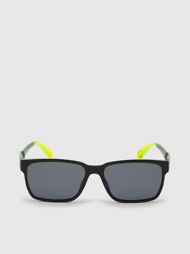 DL0327, Negro/Amarillo - Gafas de sol