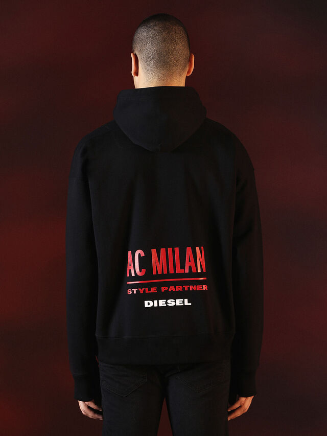 Diesel - DVL-SWEAT-SPECIAL COLLECTION, Negro - Sudaderas - Image 3