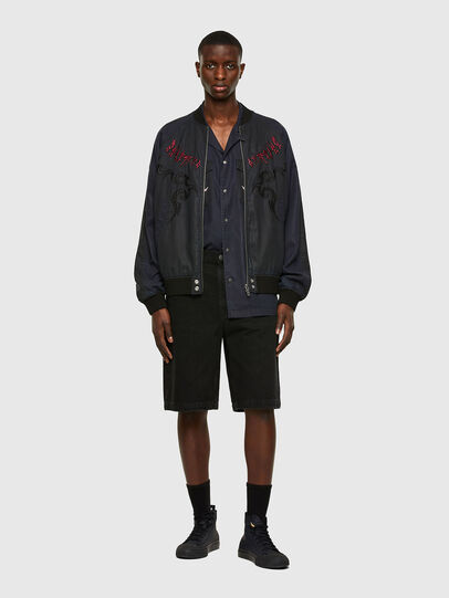 Diesel - D-MACS-SHORT, Negro - Shorts - Image 5