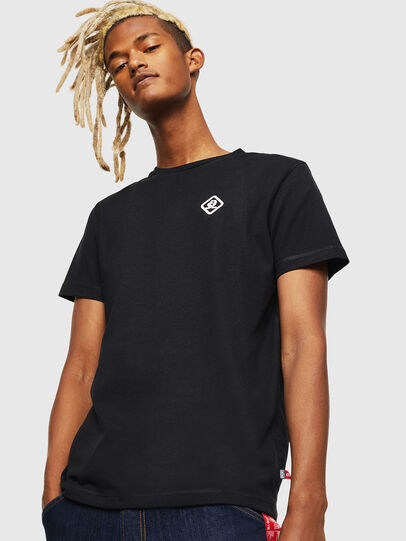 Diesel - CC-T-DIEGO-COLA, Negro - Camisetas - Image 1