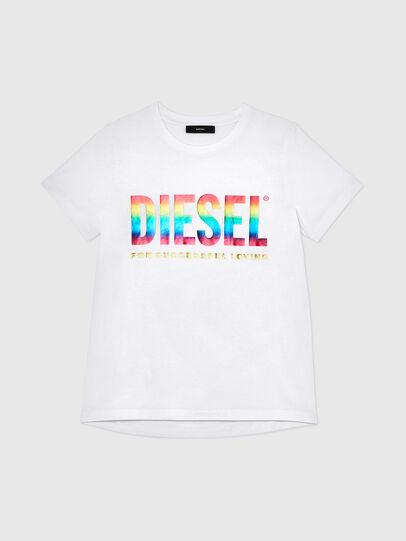 Diesel - BFOWT-SILY-P, Blanco - Camisetas - Image 1