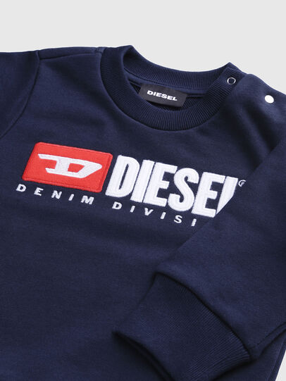 Diesel - SCREWDIVISIONB, Azul Marino - Sudaderas - Image 3