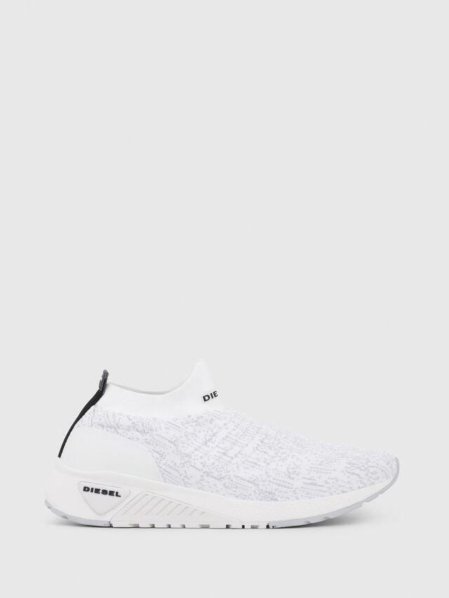 Diesel - S-KB ATHL SOCK, Blanco - Sneakers - Image 1