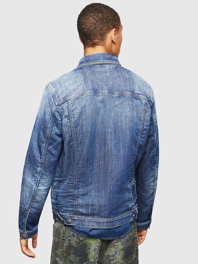 Diesel - NHILL-TW, Blue Jeans - Chaquetas de denim - Image 2