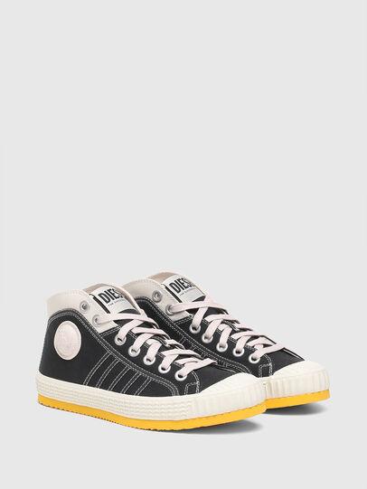 Diesel - S-YUK MC W, Negro/Amarillo - Sneakers - Image 2