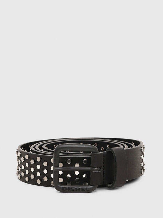 B-GOUJONS, Negro - Cinturones