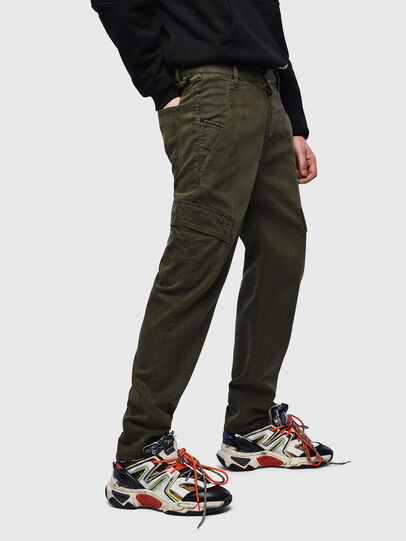 Diesel - D-Krett JoggJeans® 069LX, Verde Militar - Vaqueros - Image 4