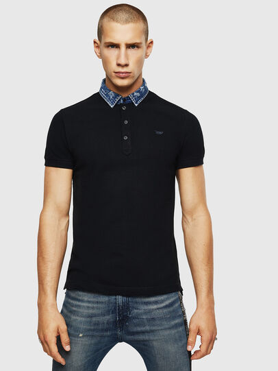 Diesel - T-MILES-NEW, Negro - Polos - Image 1