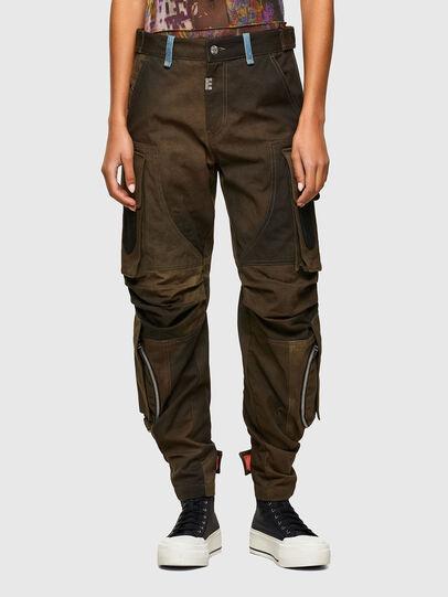 Diesel - P-JANE, Verde Militar - Pantalones - Image 1