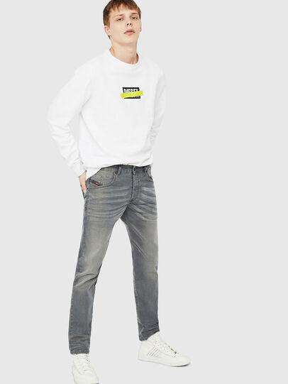 Diesel - D-Bazer 0699P, Grey Jeans - Vaqueros - Image 4
