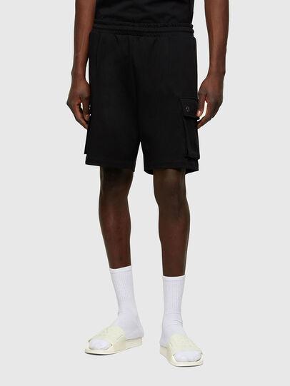 Diesel - P-PRONE, Negro - Shorts - Image 1