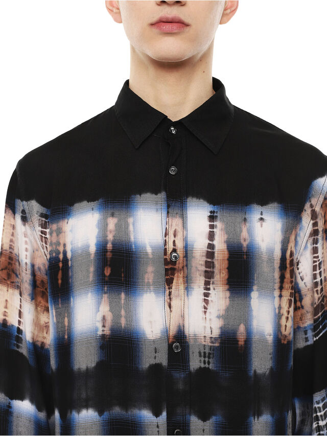 Diesel - SAMOUT, Azul Oscuro - Camisas - Image 3
