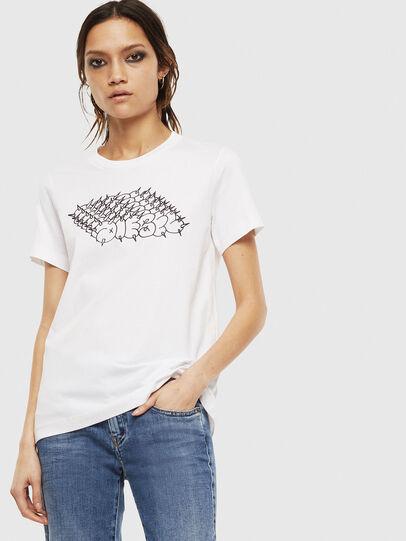 Diesel - T-SILY-S6, Blanco - Camisetas - Image 1
