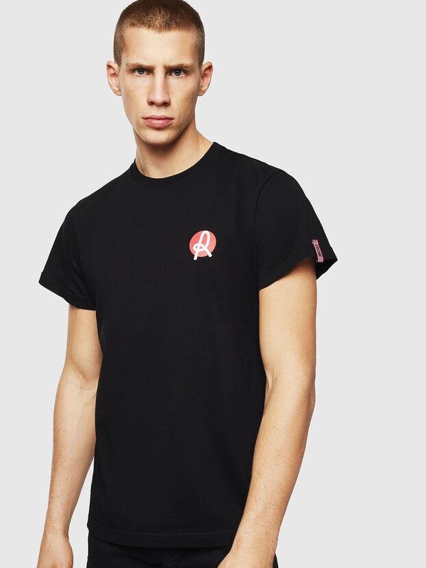 LR-T-DIEGO-VIC, Negro - Camisetas