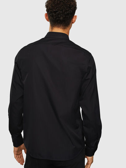 Diesel - S-BILL, Negro - Camisas - Image 2