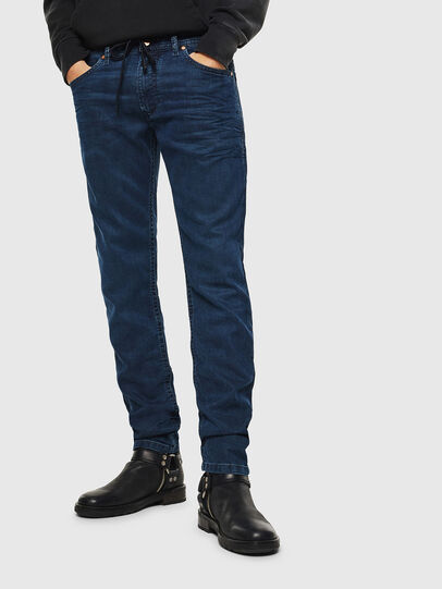 Diesel - Thommer JoggJeans 0688J, Azul Oscuro - Vaqueros - Image 1