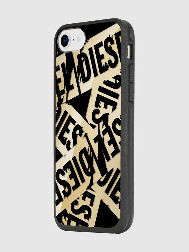 Diesel - MULTI TAPE GOLD/BLACK IPHONE 8/7/6S/6 CASE, Oro - Fundas - Image 5