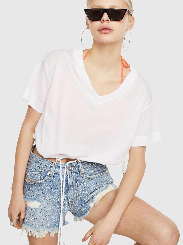 Diesel - T-ELISY-A, Blanco - Camisetas - Image 1