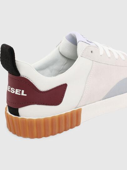Diesel - S-BULLY LC, Blanco/Rojo - Sneakers - Image 6