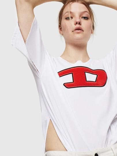 Diesel - T-JACKY-I, Crema - Camisetas - Image 4
