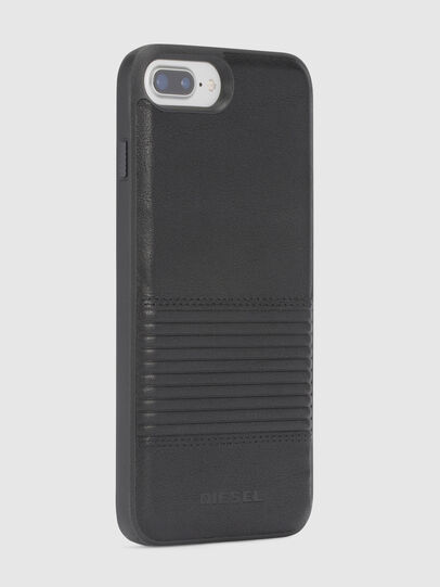 Diesel - BLACK LINED LEATHER IPHONE 8/7/6s/6 CASE,  - Fundas - Image 5