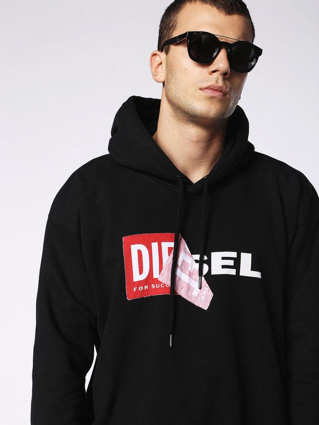 Diesel - DL0251, Negro Brillante - Gafas de sol - Image 5