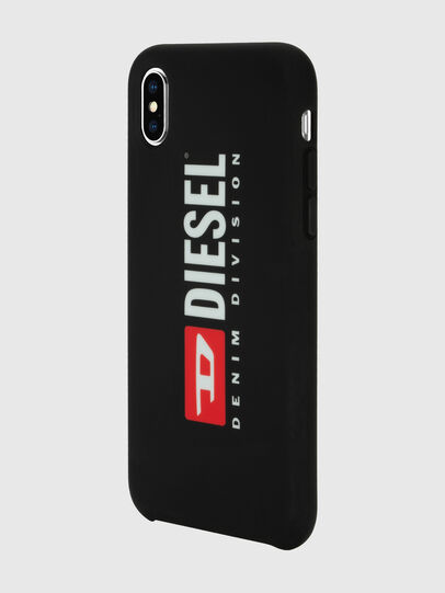 Diesel - DIESEL PRINTED CO-MOLD CASE FOR IPHONE XS MAX, Negro/Blanco - Fundas - Image 5