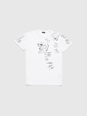 CL-T-DIEGO-3, Blanco - Camisetas