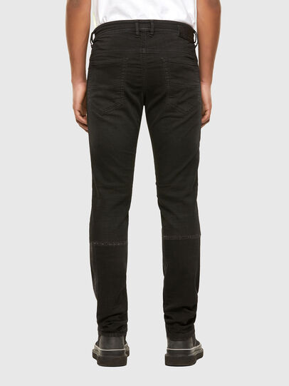 Diesel - Thommer JoggJeans 009IC, Negro/Gris oscuro - Vaqueros - Image 2