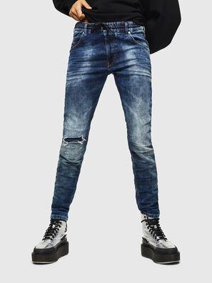 Krailey JoggJeans 069AA, Azul Oscuro - Vaqueros