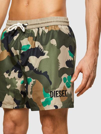 Diesel - BMBX-WAVE 2.017, Verde Militar - Bañadores boxers - Image 3