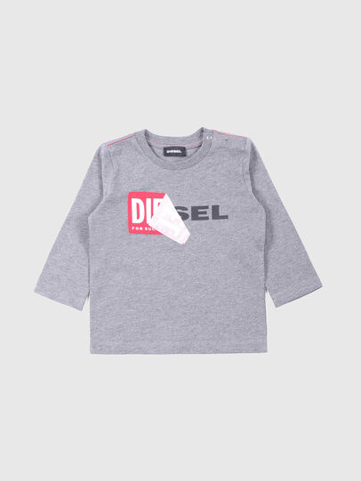 Diesel - TOQUEB, Gris - Camisetas y Tops - Image 1
