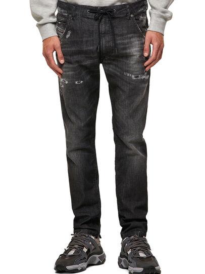 Diesel - Krooley JoggJeans® 09B53, Negro/Gris oscuro - Vaqueros - Image 1