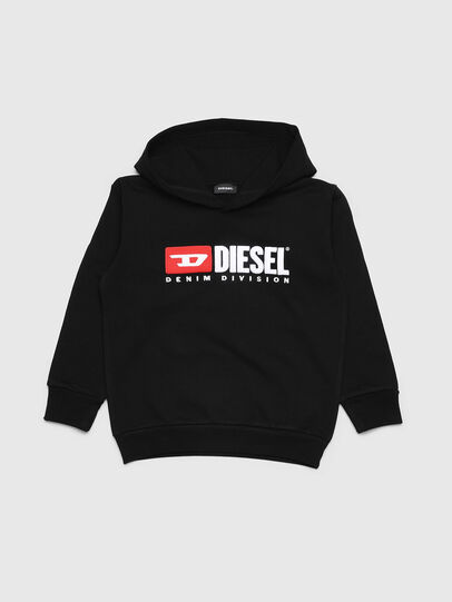 Diesel - SDIVISION OVER, Negro - Sudaderas - Image 1