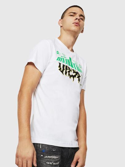 Diesel - T-DIEGO-B12, Blanco - Camisetas - Image 1