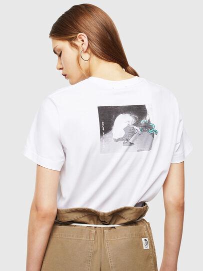Diesel - T-DIEGO-J20, Blanco - Camisetas - Image 4