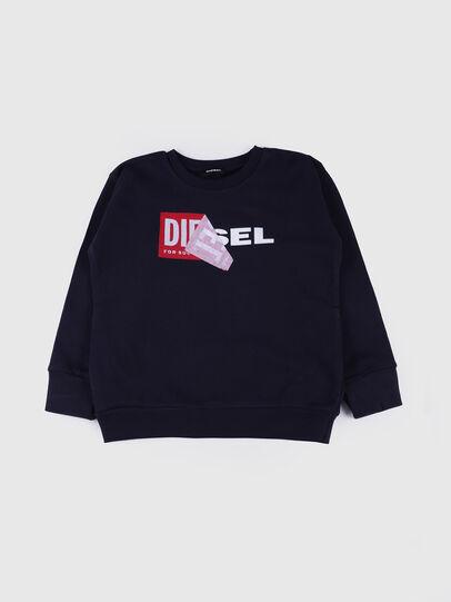 Diesel - SALLY OVER, Azul Marino - Sudaderas - Image 1