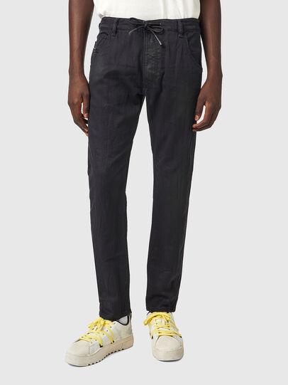 Diesel - Krooley JoggJeans® 069WW, Negro/Gris oscuro - Vaqueros - Image 1