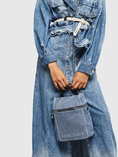 Diesel - ERACLEA II, Blue Jeans - Mochilas - Image 8