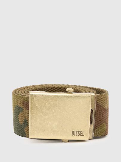 Diesel - B-COMBA, Verde Camuflaje - Cinturones - Image 1
