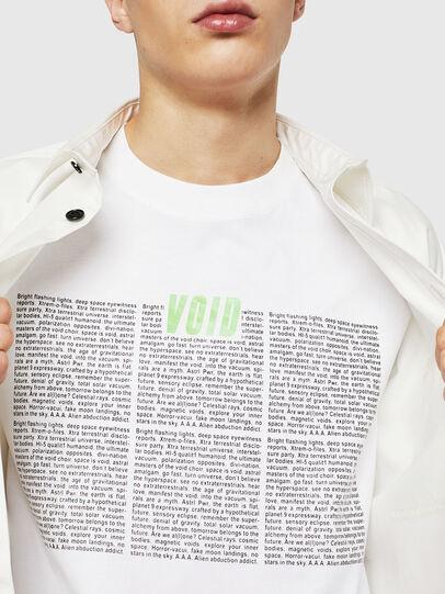 Diesel - T-JUST-LS-NEW, Blanco - Camisetas - Image 3